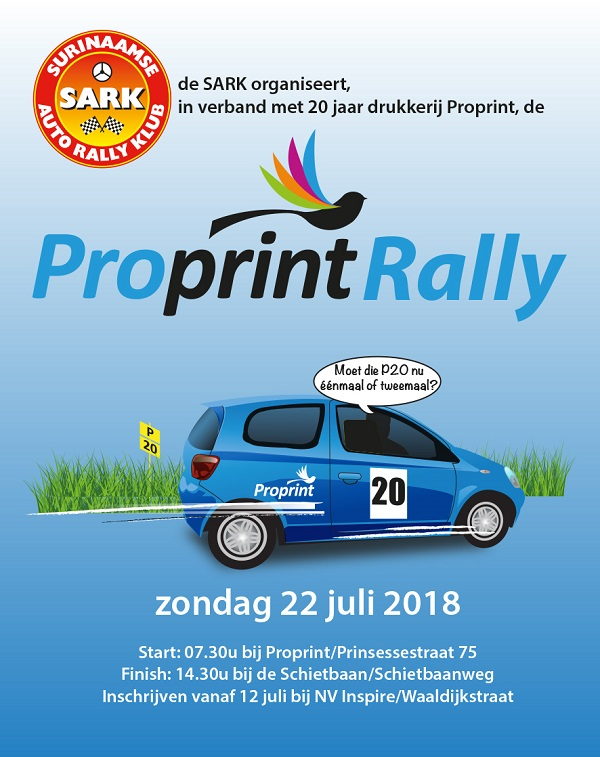 PROPRINT RALLY 2018 flyer